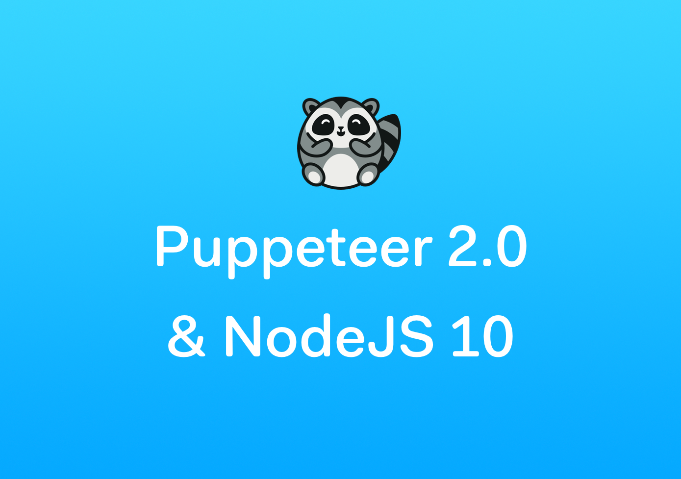 Changelog: Puppeteer & Chromium update