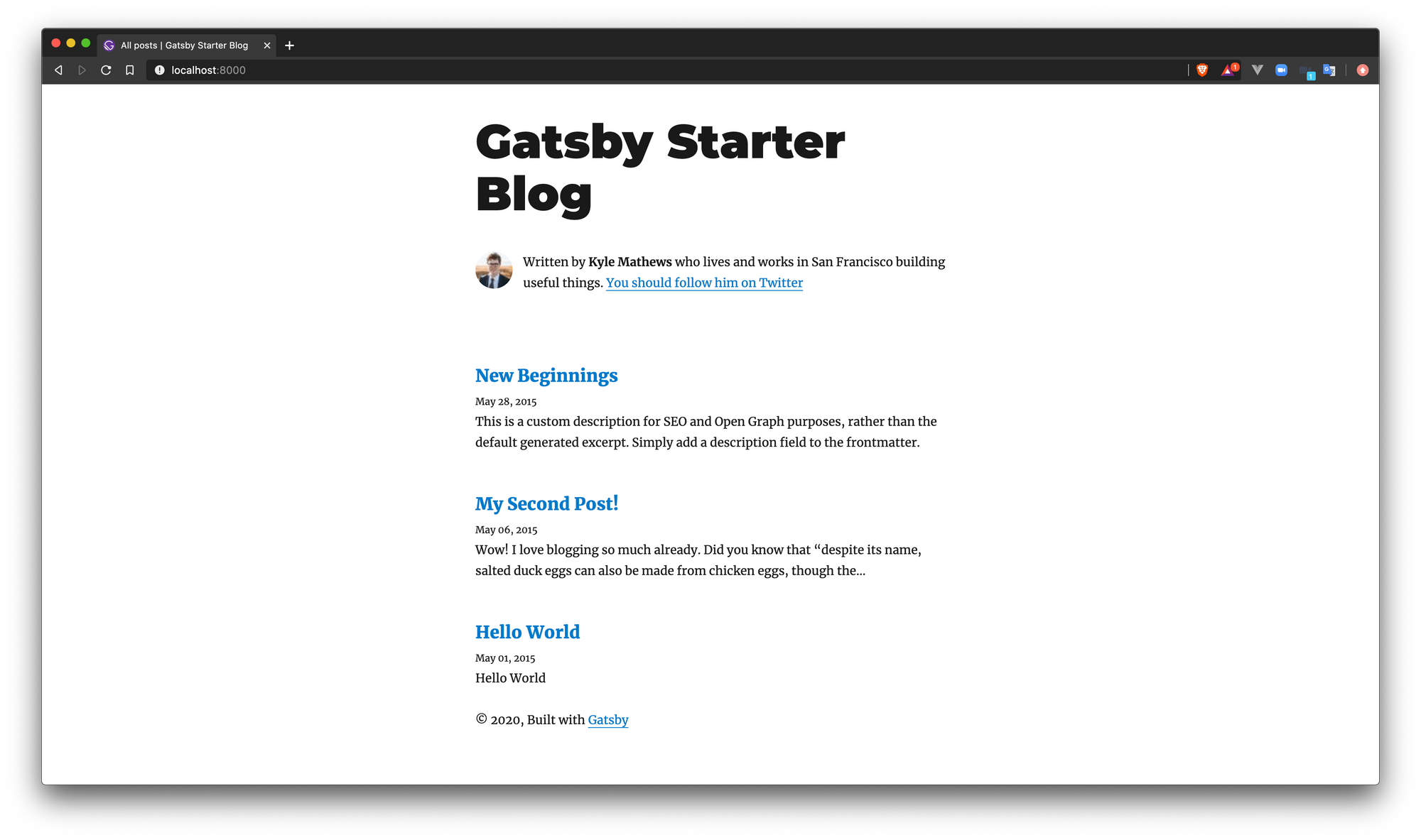 screenshot-gatsby-develop